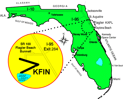 Ryan Seaplanes Location - Fllagler County, FL